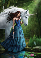 Contemplation By Anne Stokes