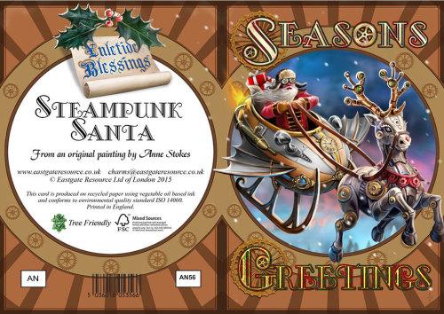 Steampunk Santa Yule