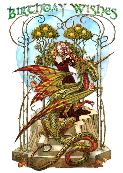 Garden Of The Fire Drake