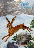 Midwinter Rune Hare By Briar