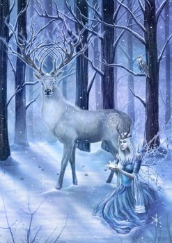 Frozen Fantasy By Clare Bertram