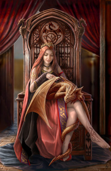 Friends Forever Greeting Card By Anne Stokes