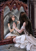 Magical Mirrow By Anne Stokes