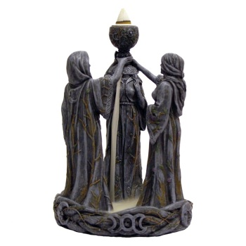 Mother Maiden & Crone Backflow Incense Burner