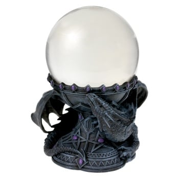 Dragon Beauty Crystal Ball Holder By Anne Stokes