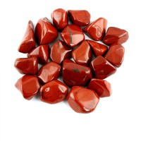 Red Jasper Tumblestone Crystal & Information Card Set
