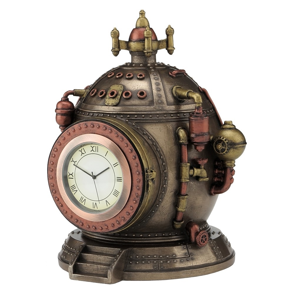 Mechanics Of Time - Steampunk Shelf Clock
