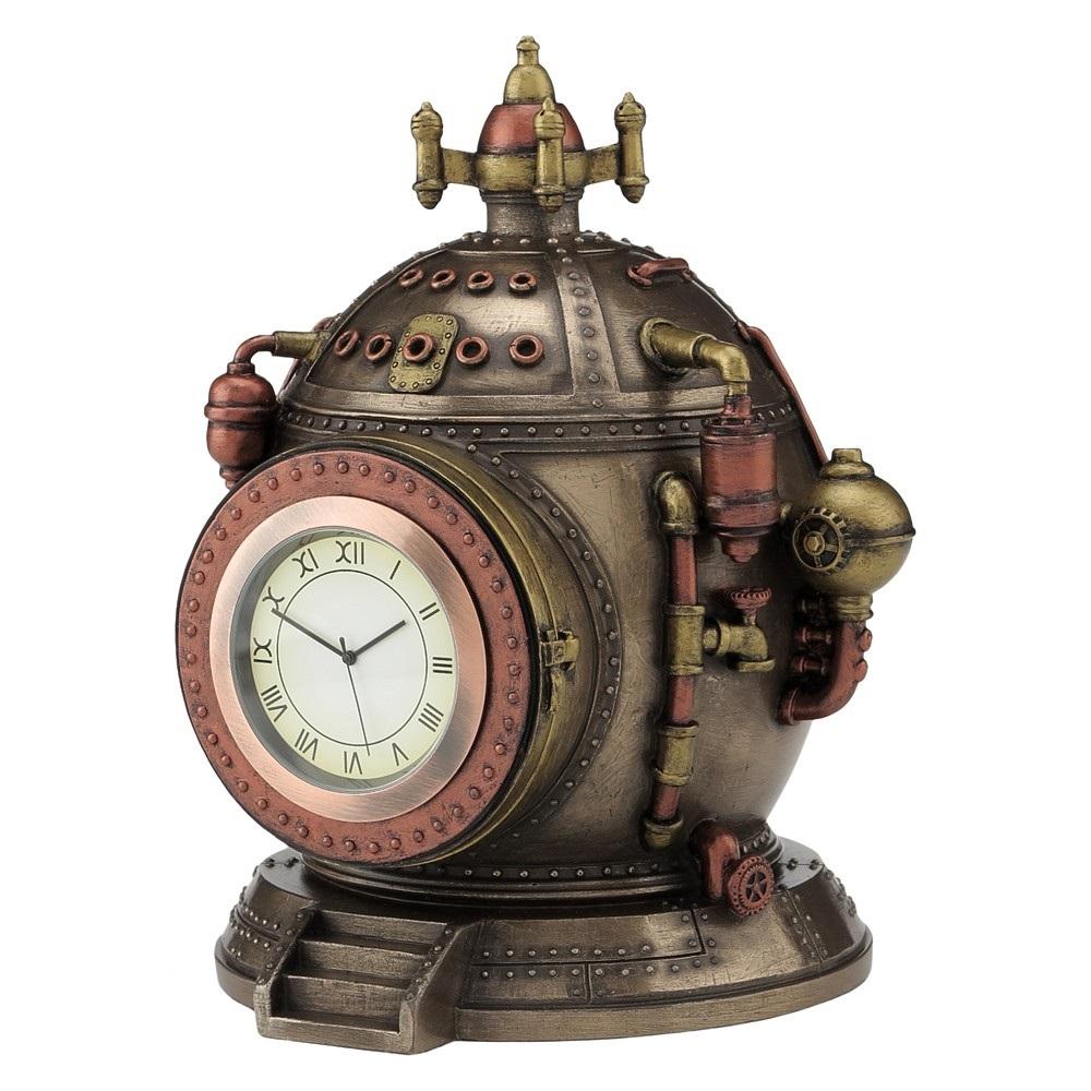 Mechanics Of Time Steampunk Shelf Clock Nemesis Now