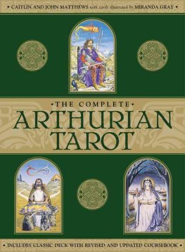Arthurian Tarot Cards - Card's & Book Set