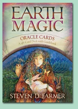 Earth Magic Oracle Card's By Steven Farmer