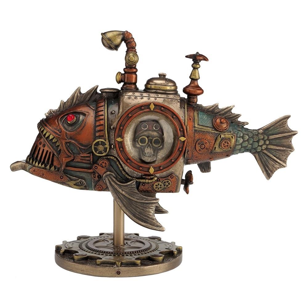 Sub Piranha - Steampunk Figurine