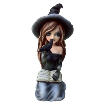 Regan - Witch & Crow Figurine