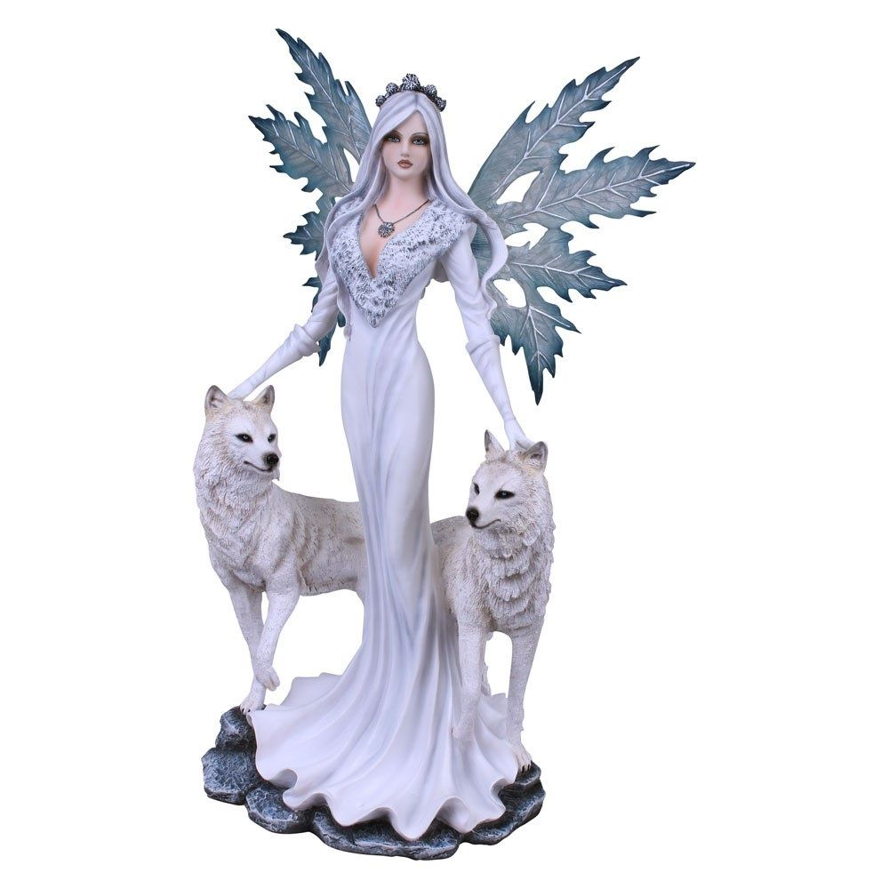 Aura Fairy Amp Wolf S Figurine Nemesis Now The Mystical
