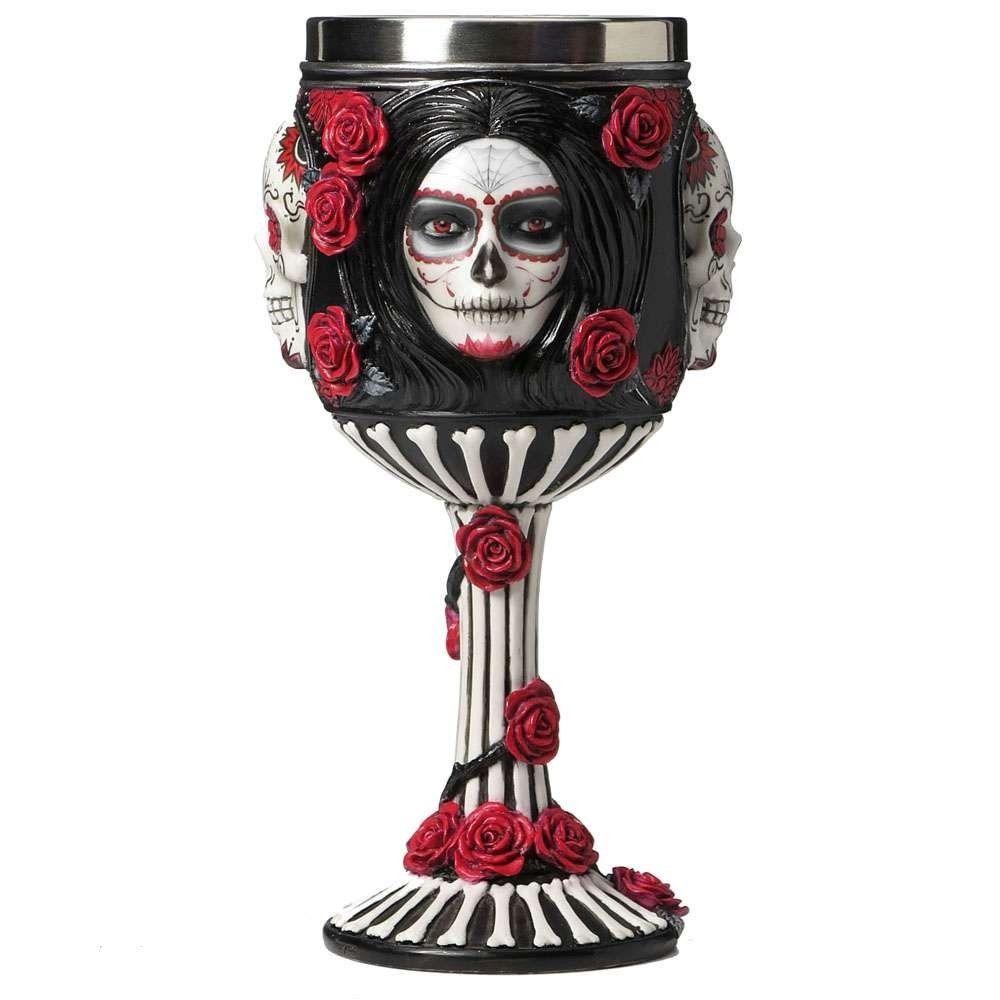 Sugar Skull Goblet By James Ryman