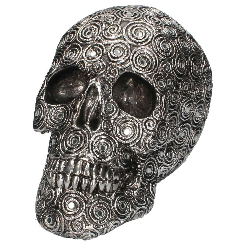 Spiral Reflection Skull