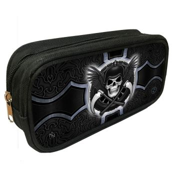 Biker 3D Pencil Case By James Ryman