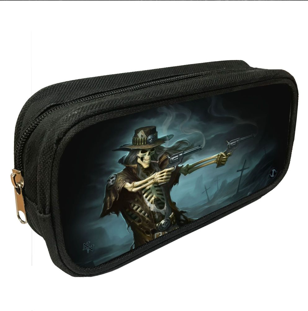 Gunslinger 3D Pencil Case By James Ryman