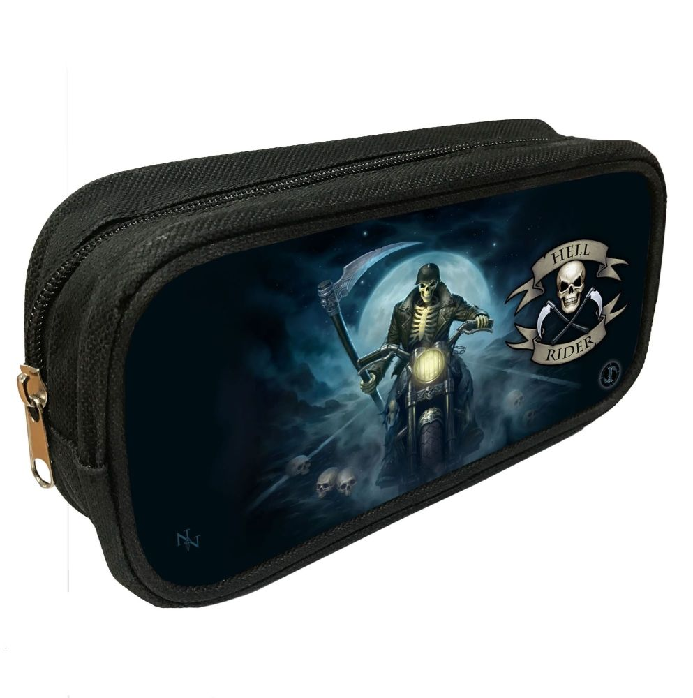 Hell Rider 3D Pencil Case By James Ryman