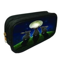 3D Pencil Case Moon Shadows By Lisa Parker