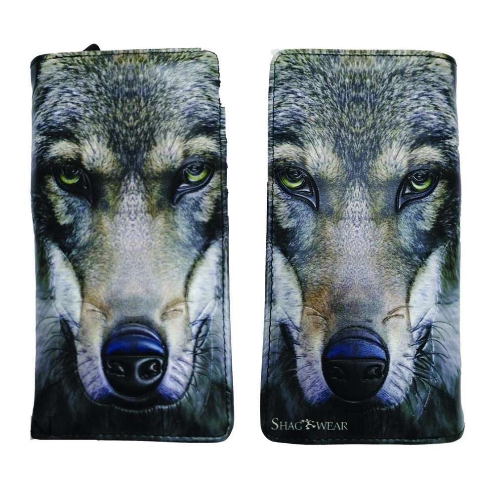 Portrait of a Wolf Purse (Large)
