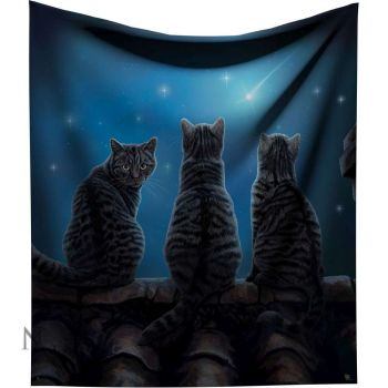 Wish Upon A Star Throw By Lisa Parker