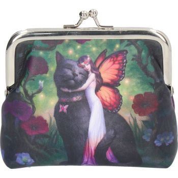 Cat And Fairy Coin Purse By James Ryman