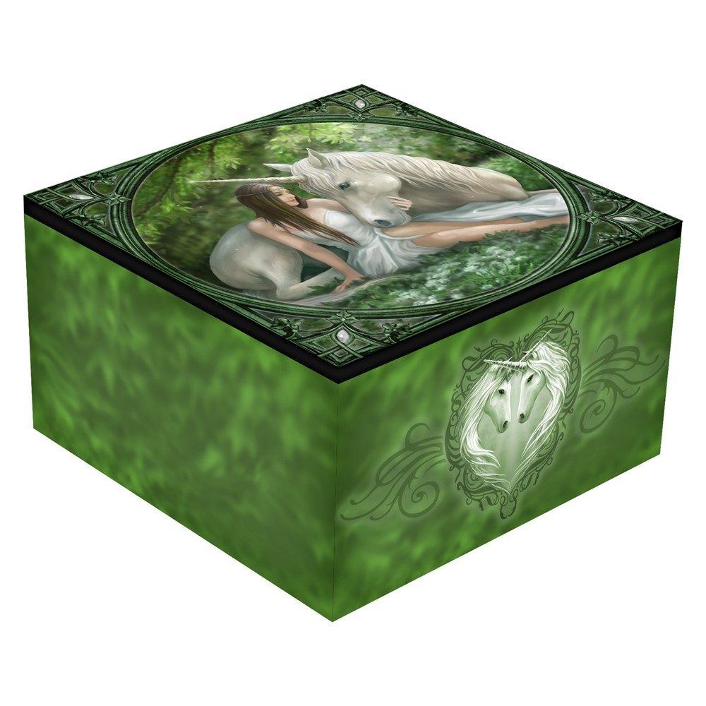 Pure Heart Mirror Box By Anne Stokes