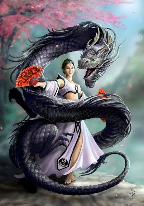 Dragon Dancer By Anne Stokes