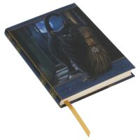 A Brush With Magick Embossed Journal By Lisa Parker