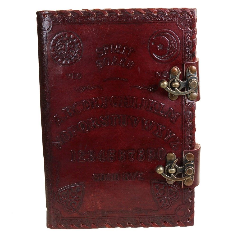 Spirit Board Leather Embossed Journal