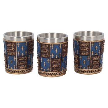 Medieval Shot Glasses (set of three)