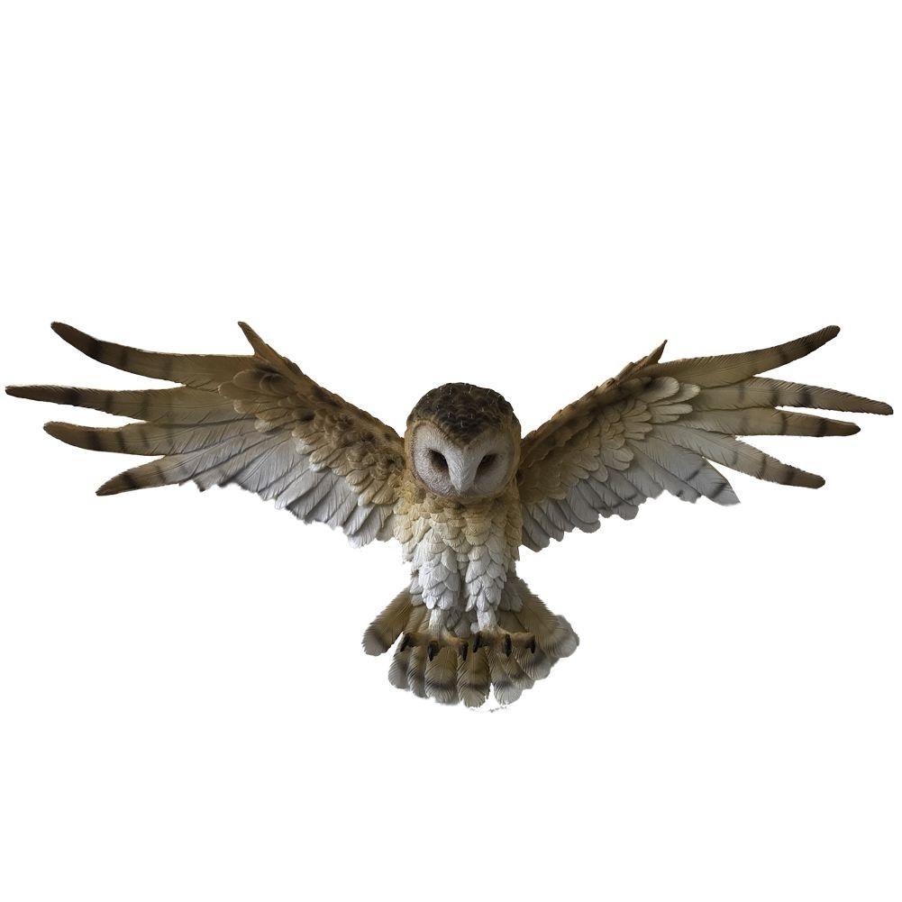 Wisdom Flight - Owl Plaque