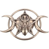 Triple Moon Goddess Plaque