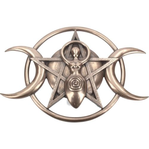 Triple Moon Goddess Plaque Nemesis Now The Mystical Gift Shop