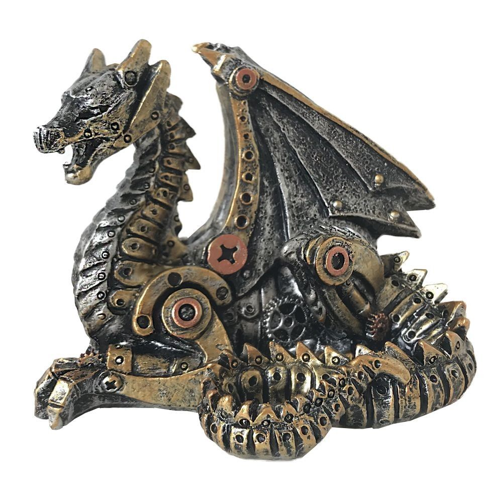 Mechanical Hatchling - Steampunk Dragon