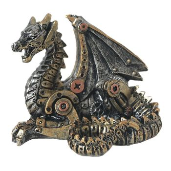 Mechanical Hatchling - Steampunk Dragon
