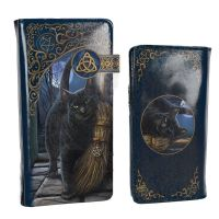 A Brush With Magick By Lisa Parker - Embossed Purse