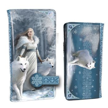 Winter Guardians By Anne Stokes -  Embossed Purse