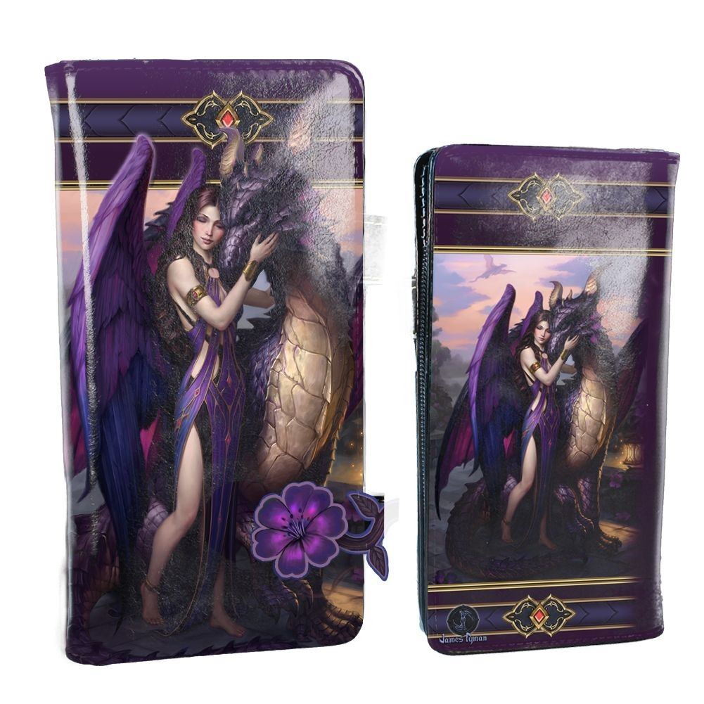 Dragon Sanctuary By James Ryman - Embossed Purse