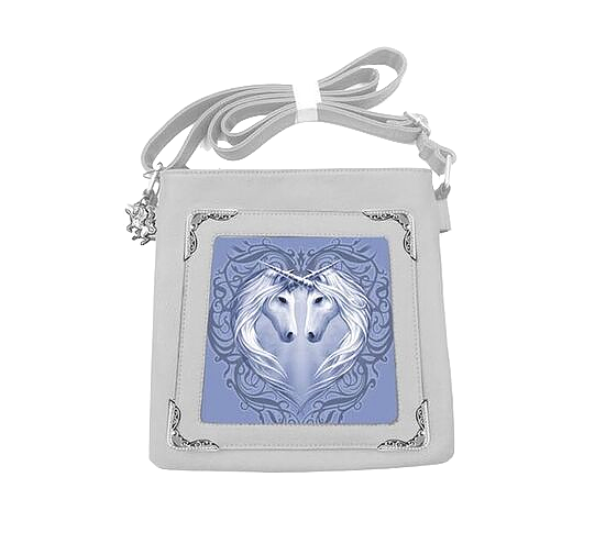 Unicorn Heart By Anne Stokes - Side Bag 3D