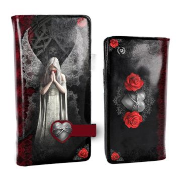 Only Love Remains By Anne Stokes - Embossed Purse