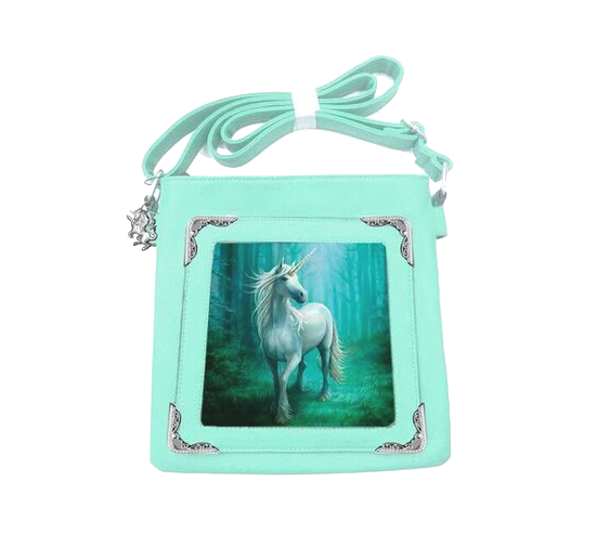 Forest Unicorn By Anne Stokes - Side Bag 3D