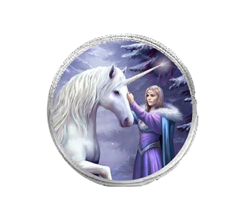 Pure Magic By Anne Stokes - Round Coin Purse