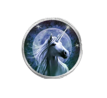 Starlight By Anne Stokes - Round Coin Purse
