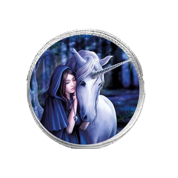 Solace By Anne Stokes - Round Coin Purse
