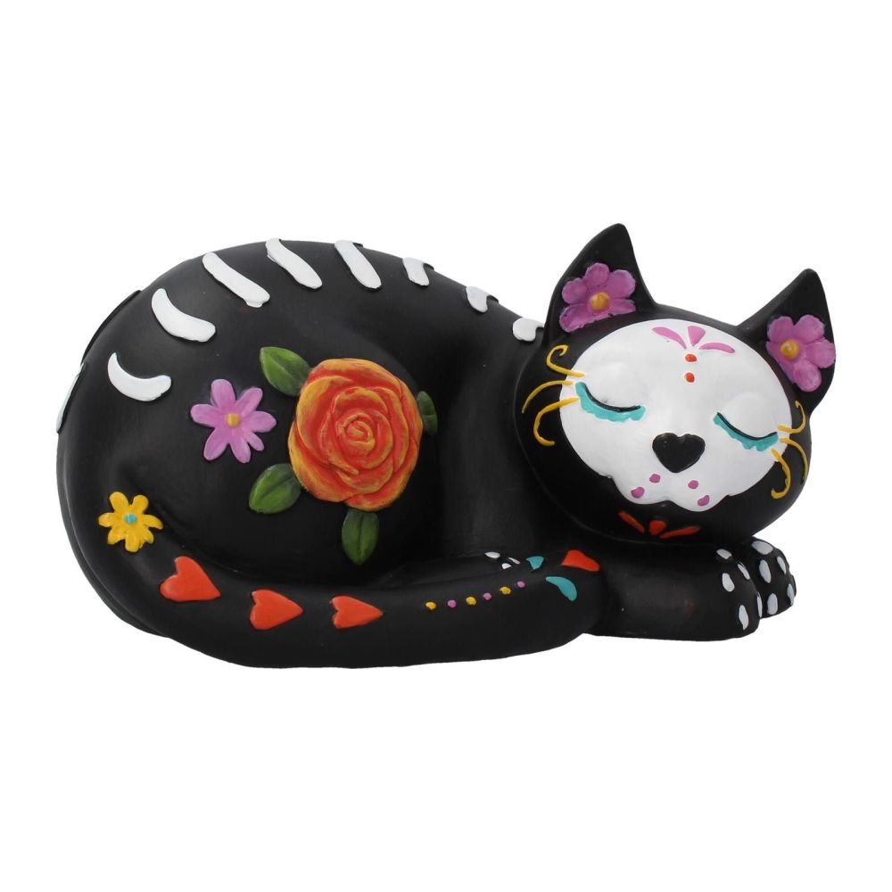 Sleepy Sugar - Cat Figurine