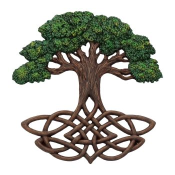 Tree Of Life - Wall Plaque - Painted