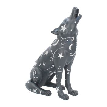 Lupus - Howling Wolf Figurine