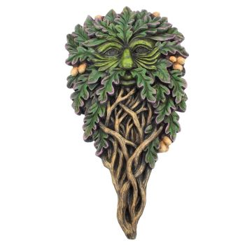 All Seeing Oak - Greenman Wall Plaque