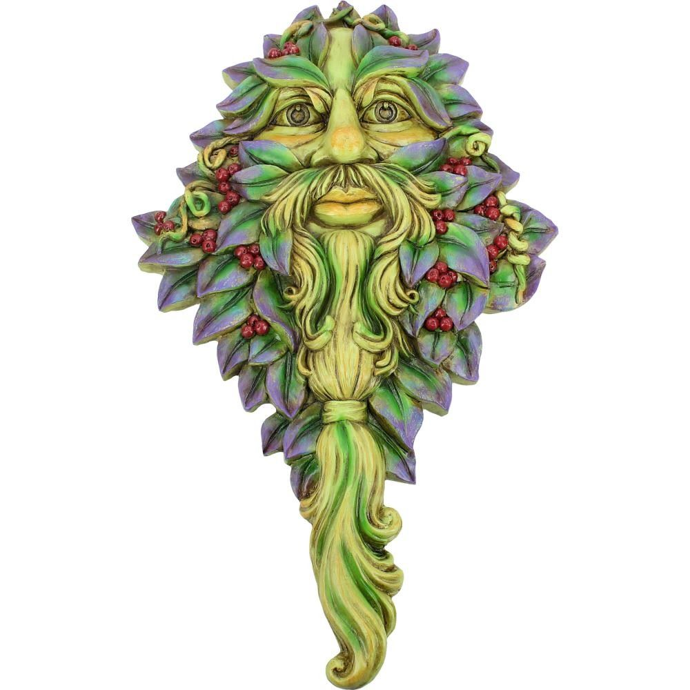 Winters Watch - Green Man - Wall Plaque